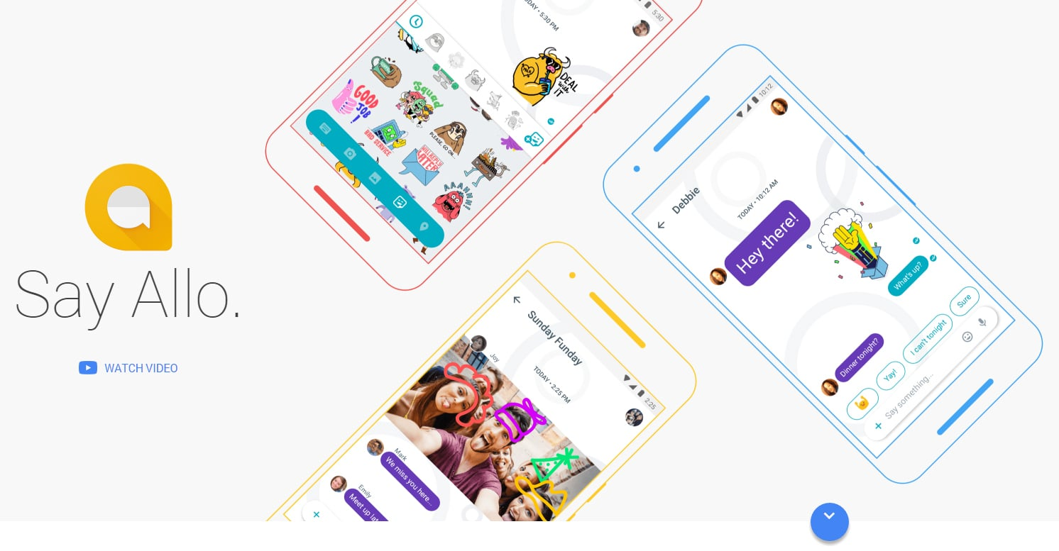 allo - web design inspiration