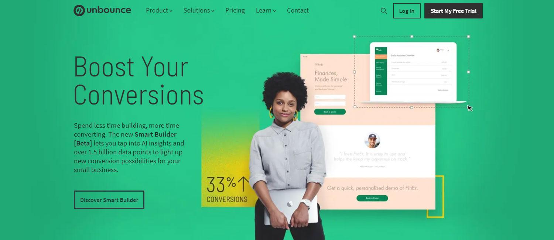 WordPress web design inspiration